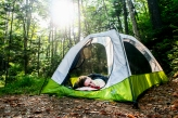 Camping photo for DigBoston © Scott Murry