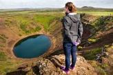 Kerid Crater Lake, Iceland