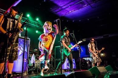 Less Than Jake at Brighton Music Hall in Boston, MA