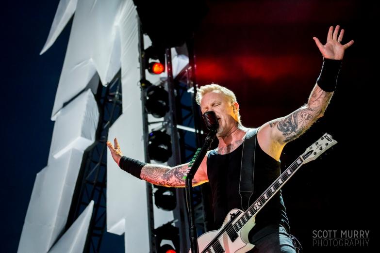 Metallica in Montreal 2017 © 2017 Scott Murry
