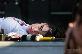 Kathleen Hanna at Riot Fest © Scott Murry