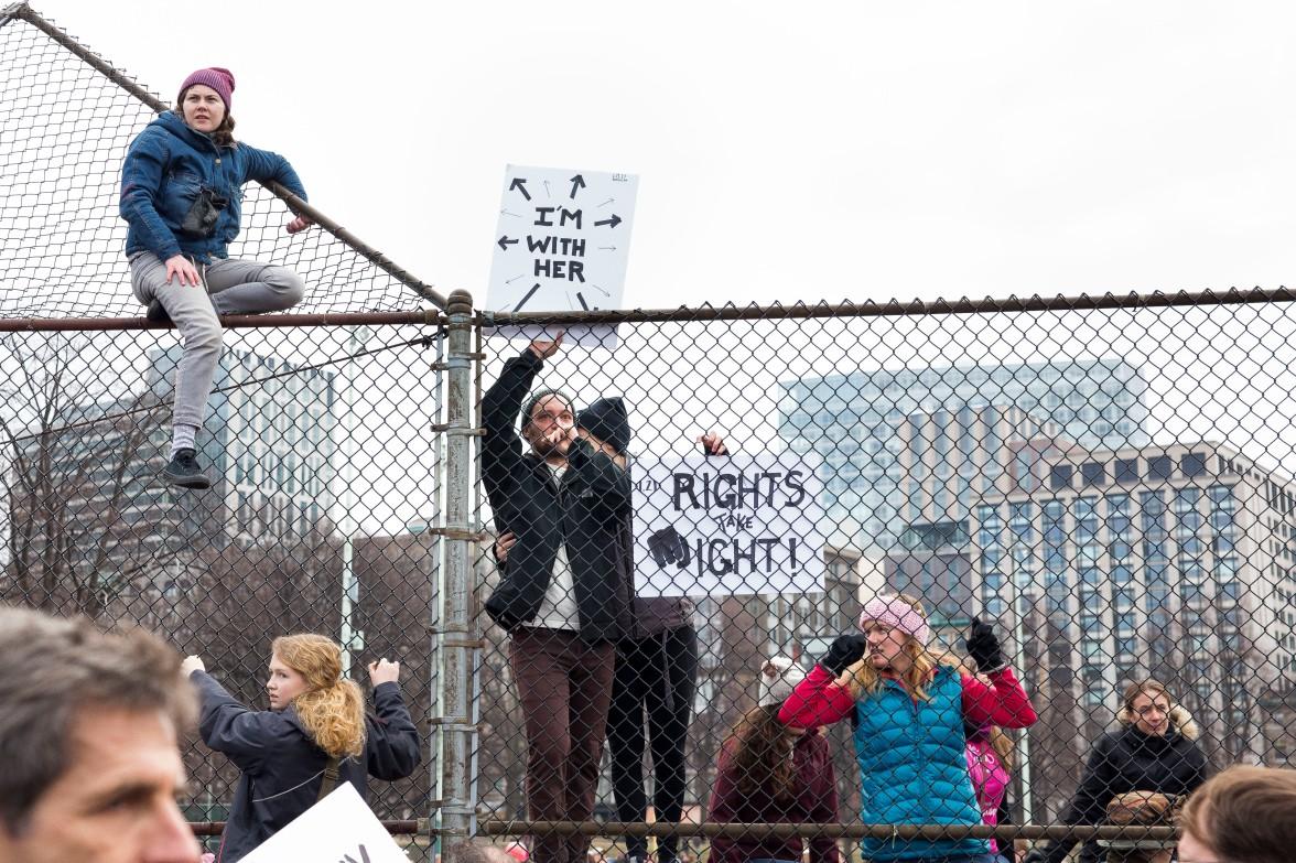 Boston Women's March © Scott Murry