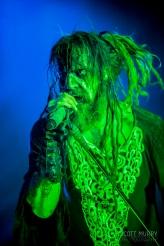 Rob Zombie at Riot Fest © Scott Murry